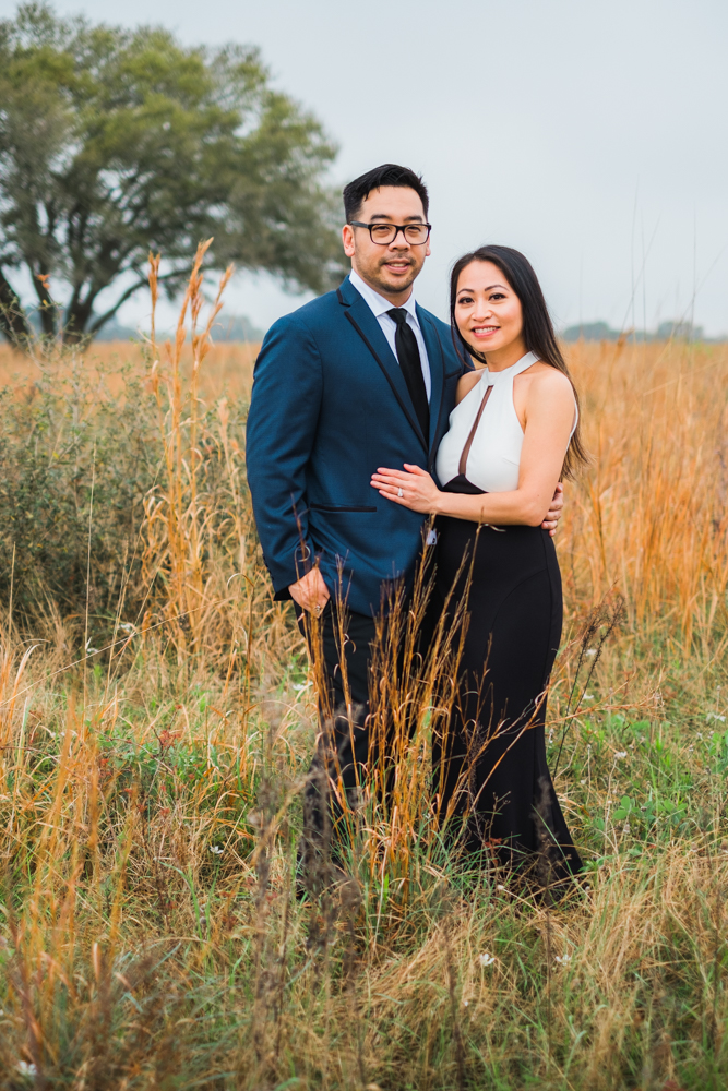 houston couple engagement session
