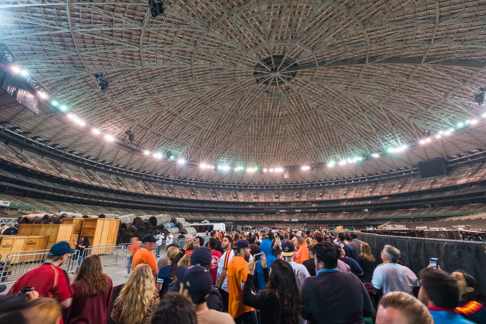 houston astrodome domecoming