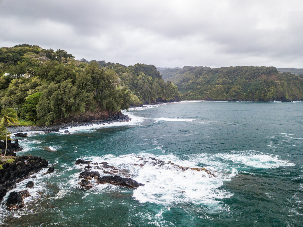 keanae lookout maui hawaii