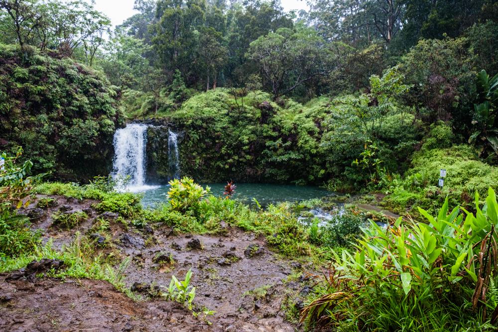 pua'a ka'a wayside park road to hana maui hawaii