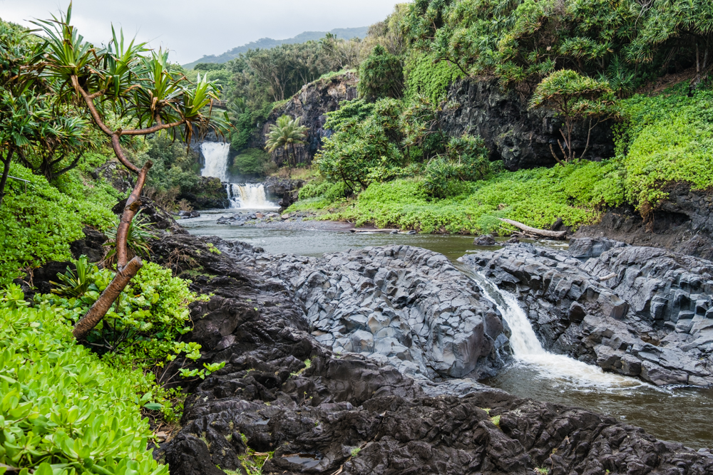 seven sacred pools ohe'o maui hawaii