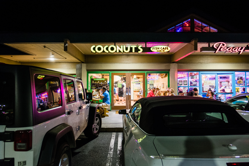 coconuts fish cafe maui hawaii