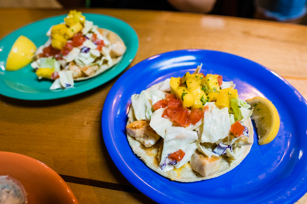 Fish Tacos (one order comes with 2 tacos)