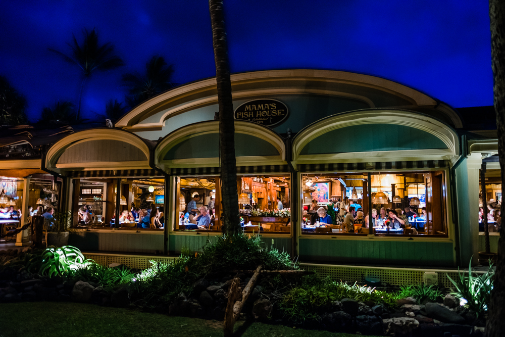 mama's fish house maui hawaii