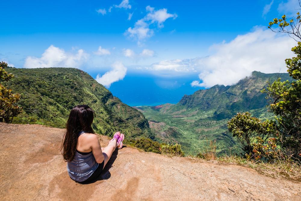 pu'u o kila lookout kauai hawaii