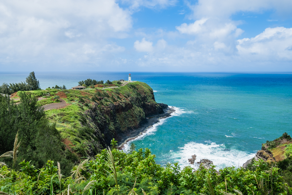 The Kilauea Lighthouse opened in 1913 and it is located in the Kilauea Point National Wildlife Refuge. Make sure to check what day you visit since the Lighthouse is closed to visitors on Sundays and Mondays. Nonetheless, it is a beautiful sight to behold, even from afar.
