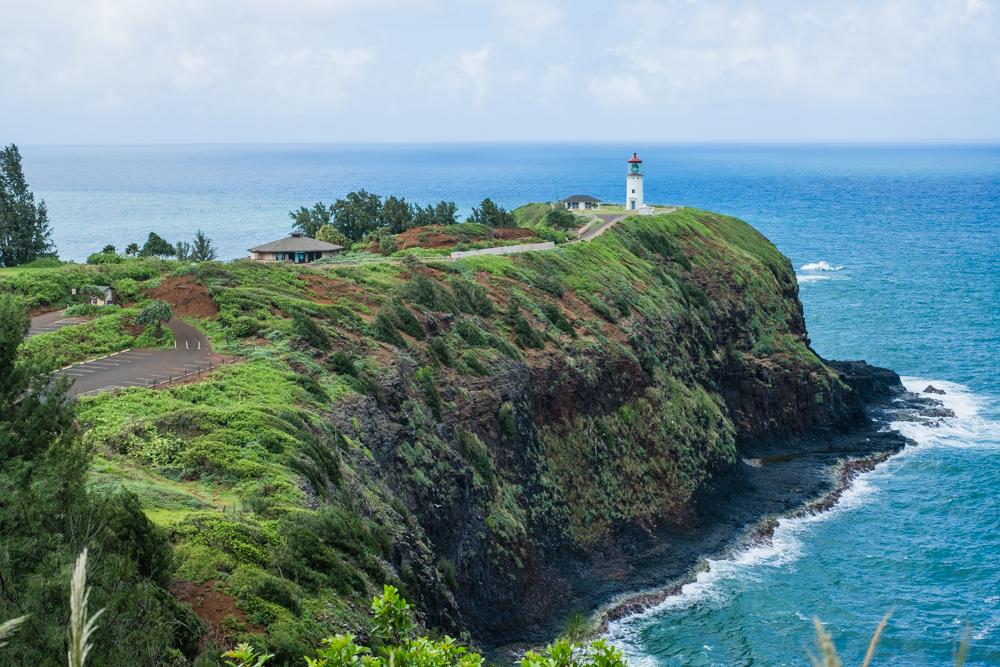 kilauea point lighthouse kauai hawaii