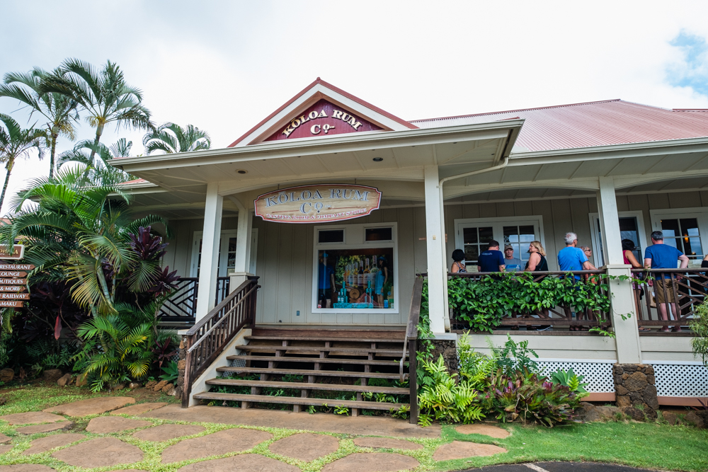 koloa rum co kauai hawaii