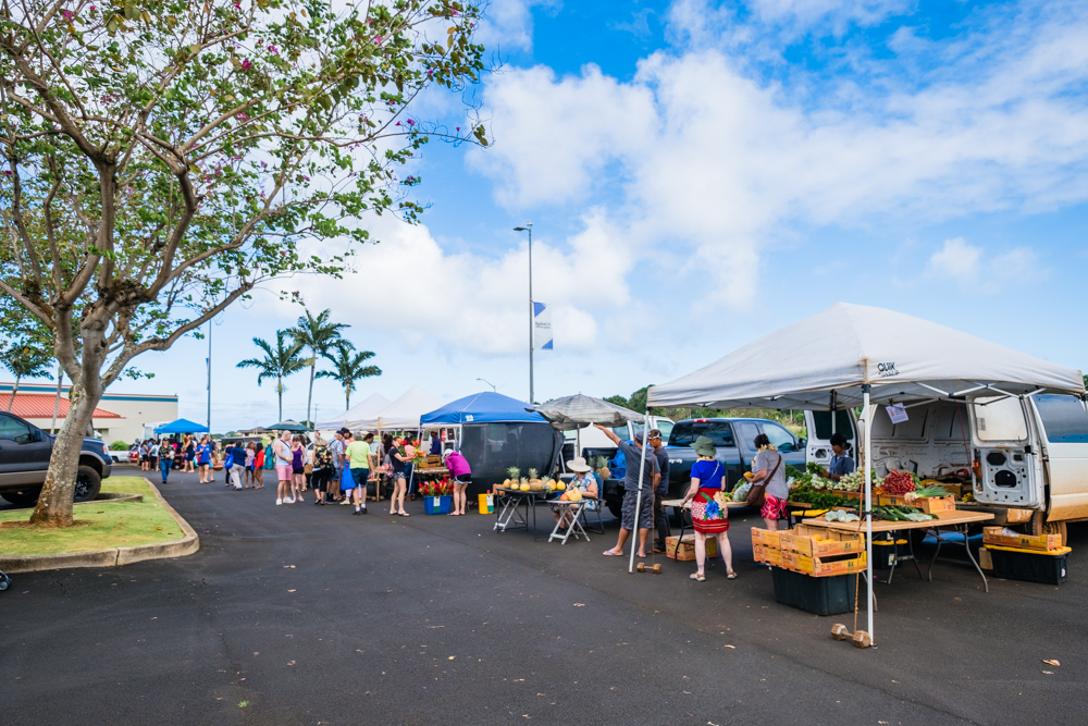 Kukui Grove Farmers Market kauai hawaii