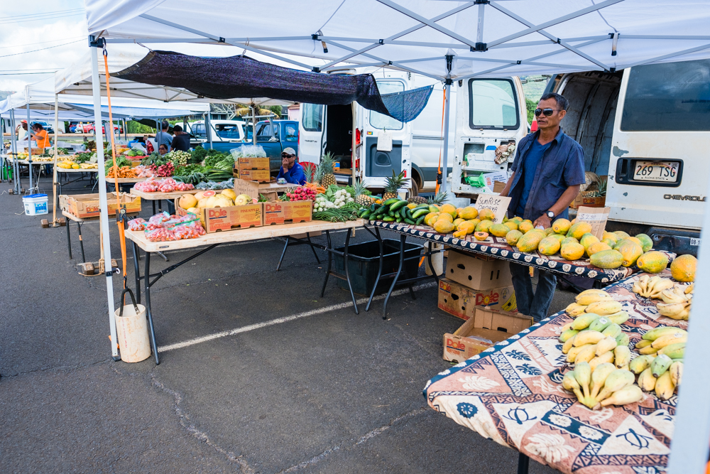 Another great place to find exotic fruits and fresh vegetables.