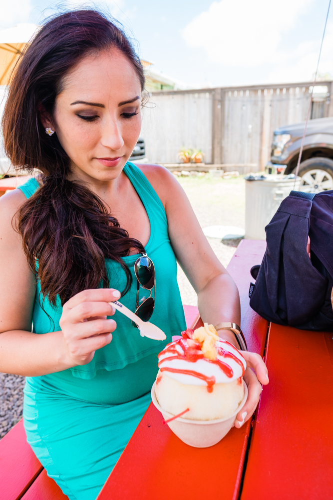 You can't leave Hawaii without trying their shave ice.