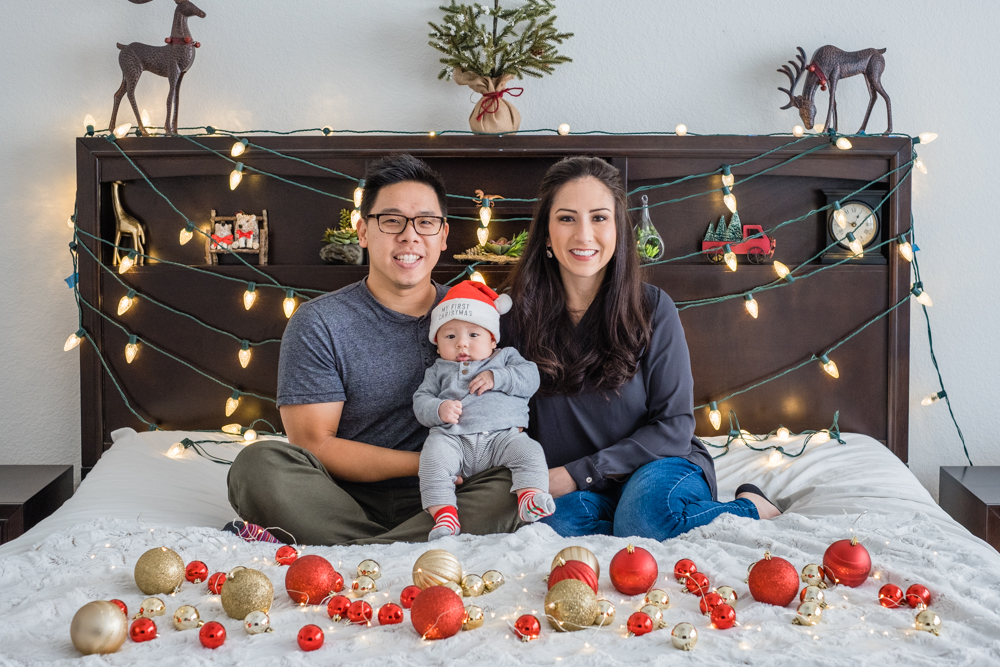 christmas shoot houston family photographer