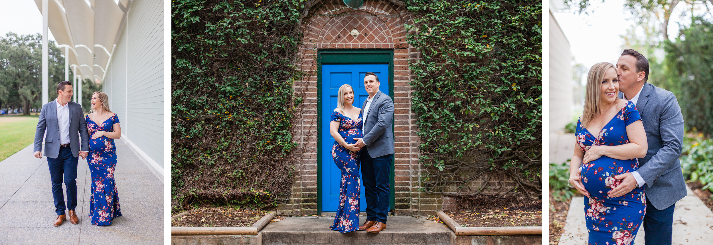 houston family photographer engagement maternity