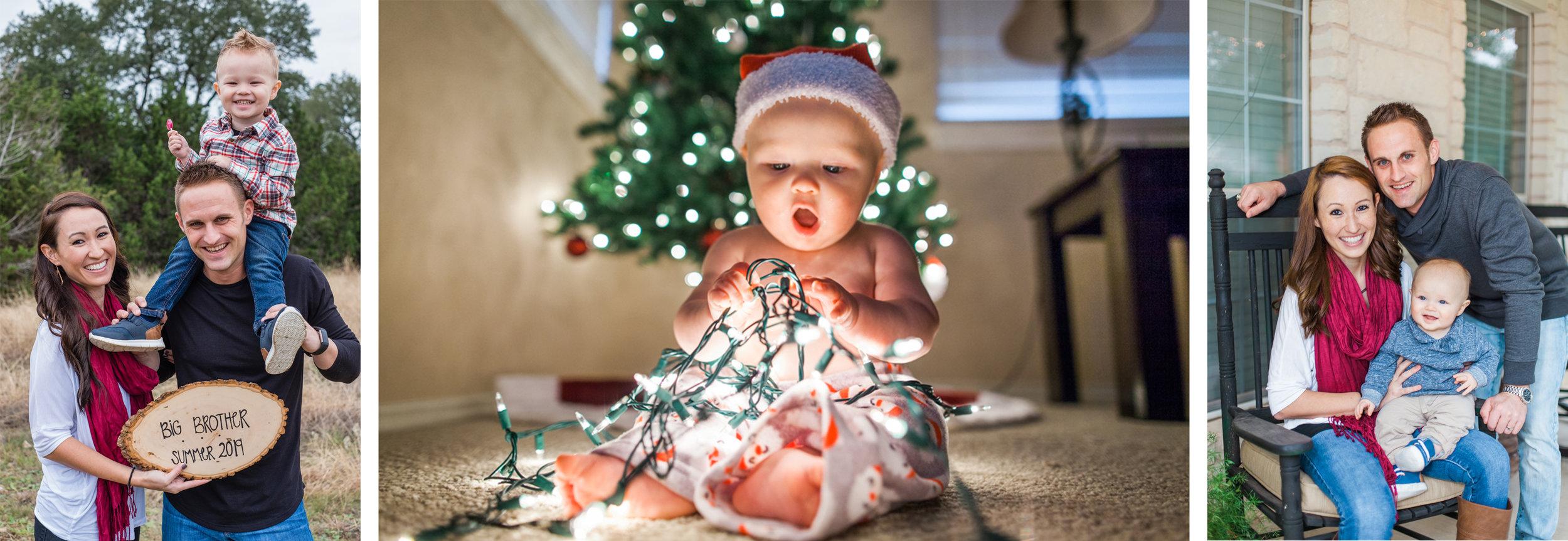 houston family photographer engagement maternity