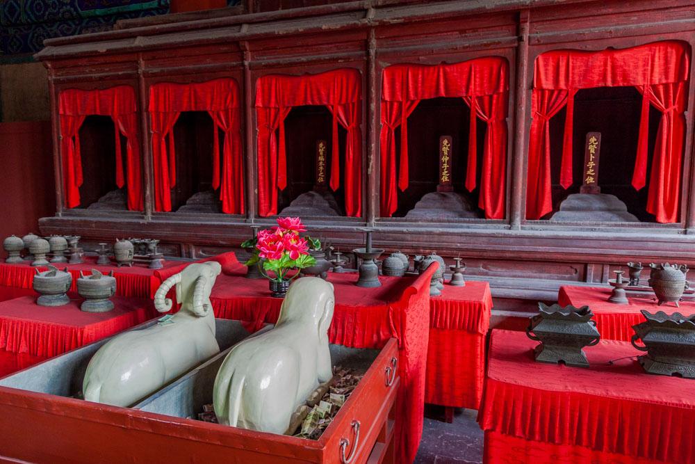 Confucius Temple, Beijing, China, 2012
