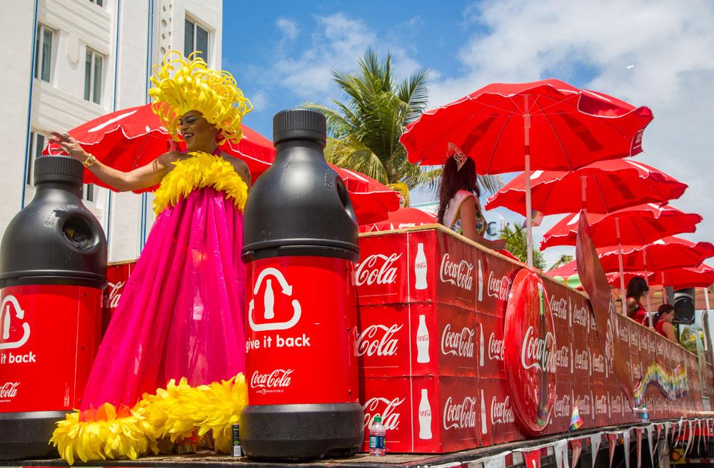Miami Beach Gay Parade, Florida, 2014