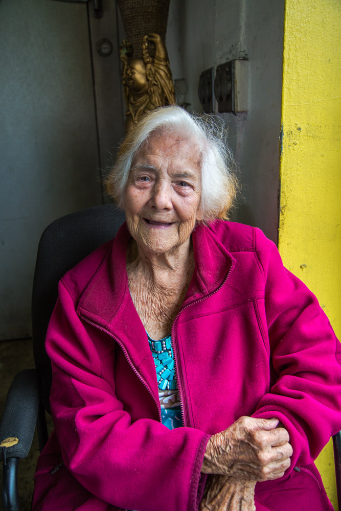 Marta, Cuban American; she came to the USA in 1959 and owned a beauty salon in Calle 8 for over 20 years. Died in 2017.