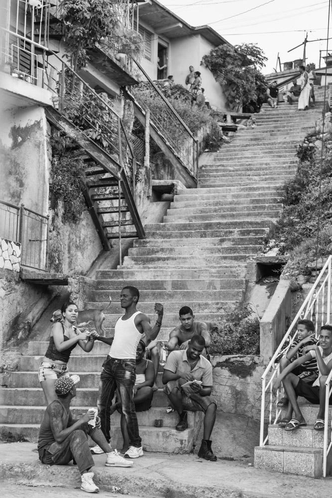 Escalinata de Calle 15, Reparto Altamira