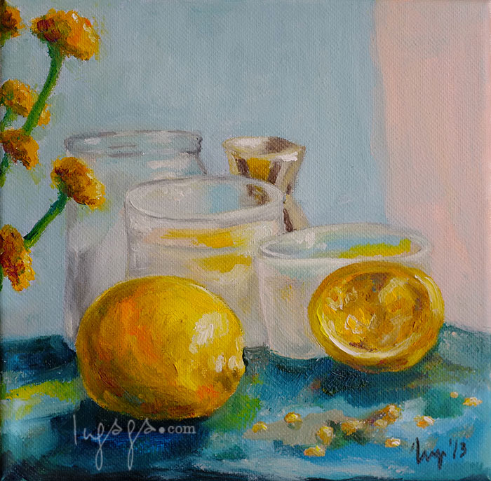 STILL LIFE  20 x 20cm  Oil on linen / 2014
