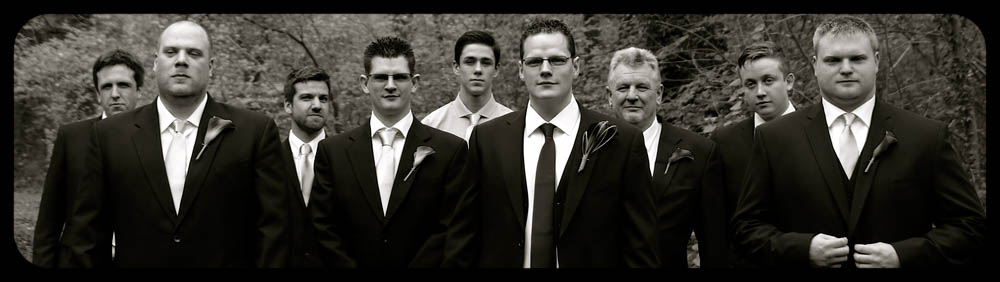 Marwell Hotel Tarantino boys black and white Wedding photo cardiff best