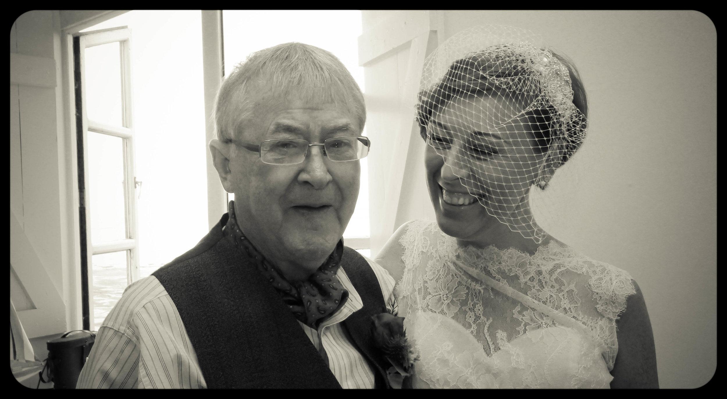 Dani & Sarah West Usk lighthouse wedding photographer cardiff South wales