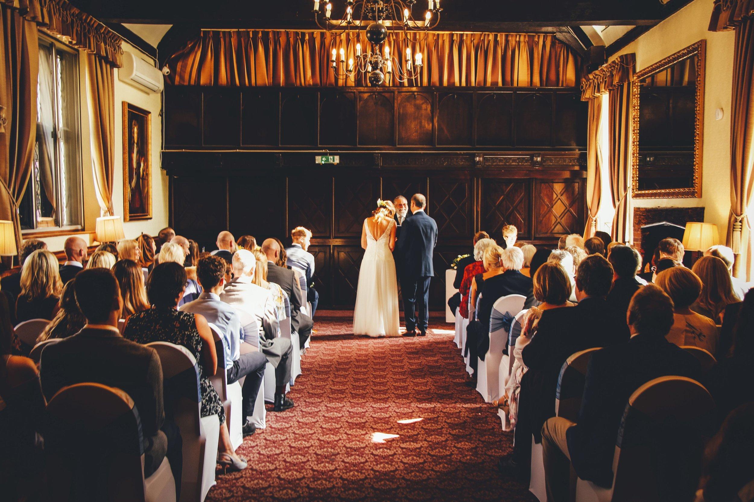 Caroline & Stuart Letchworth Hall Wedding 24