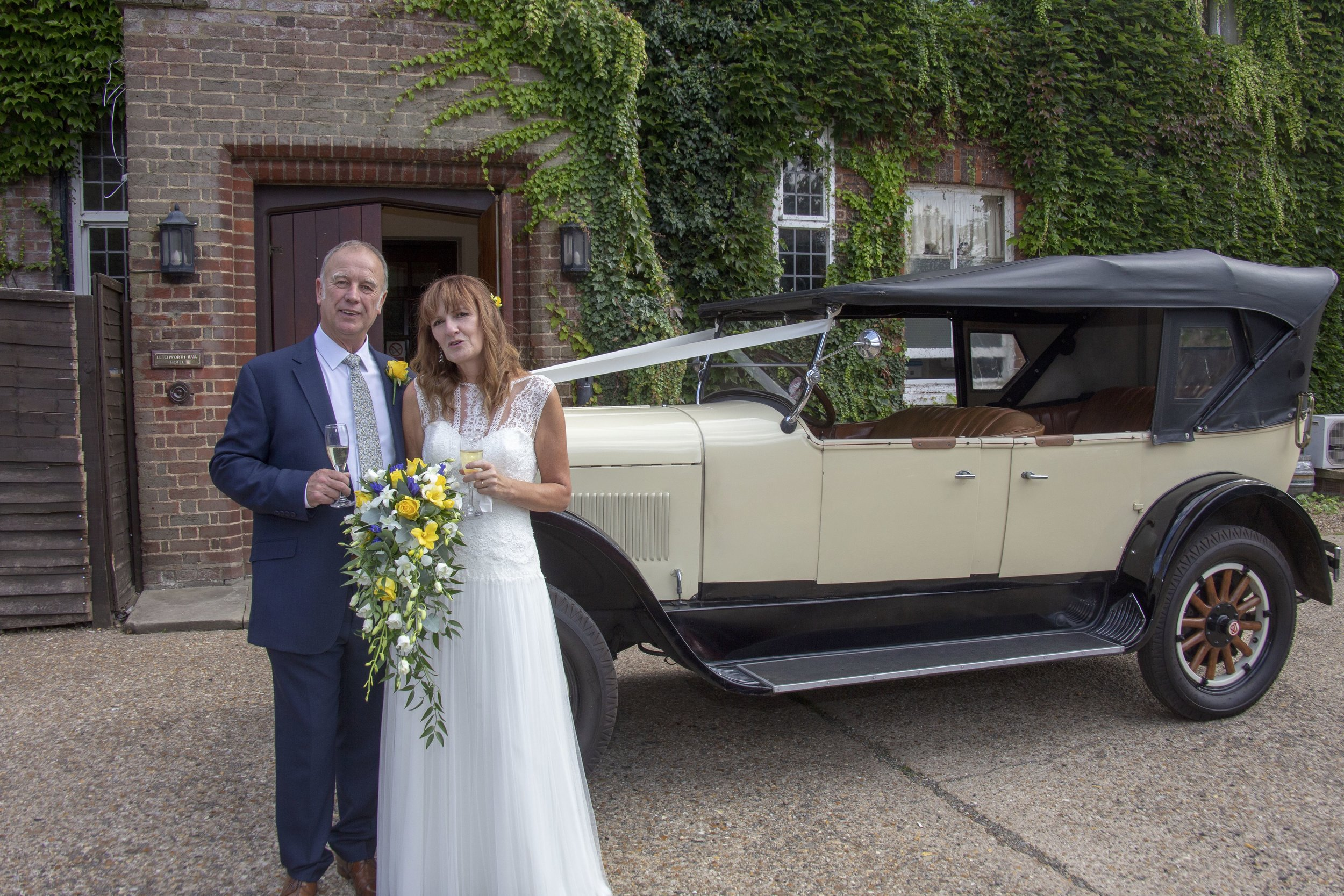 Caroline & Stuart Letchworth Hall Wedding 31
