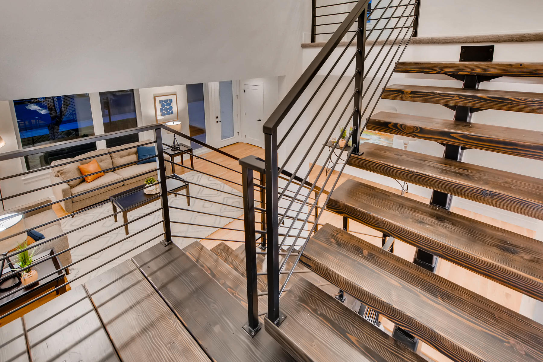 3475 S Clermont St Denver CO-015-16-Stairway-MLS_Size.jpg