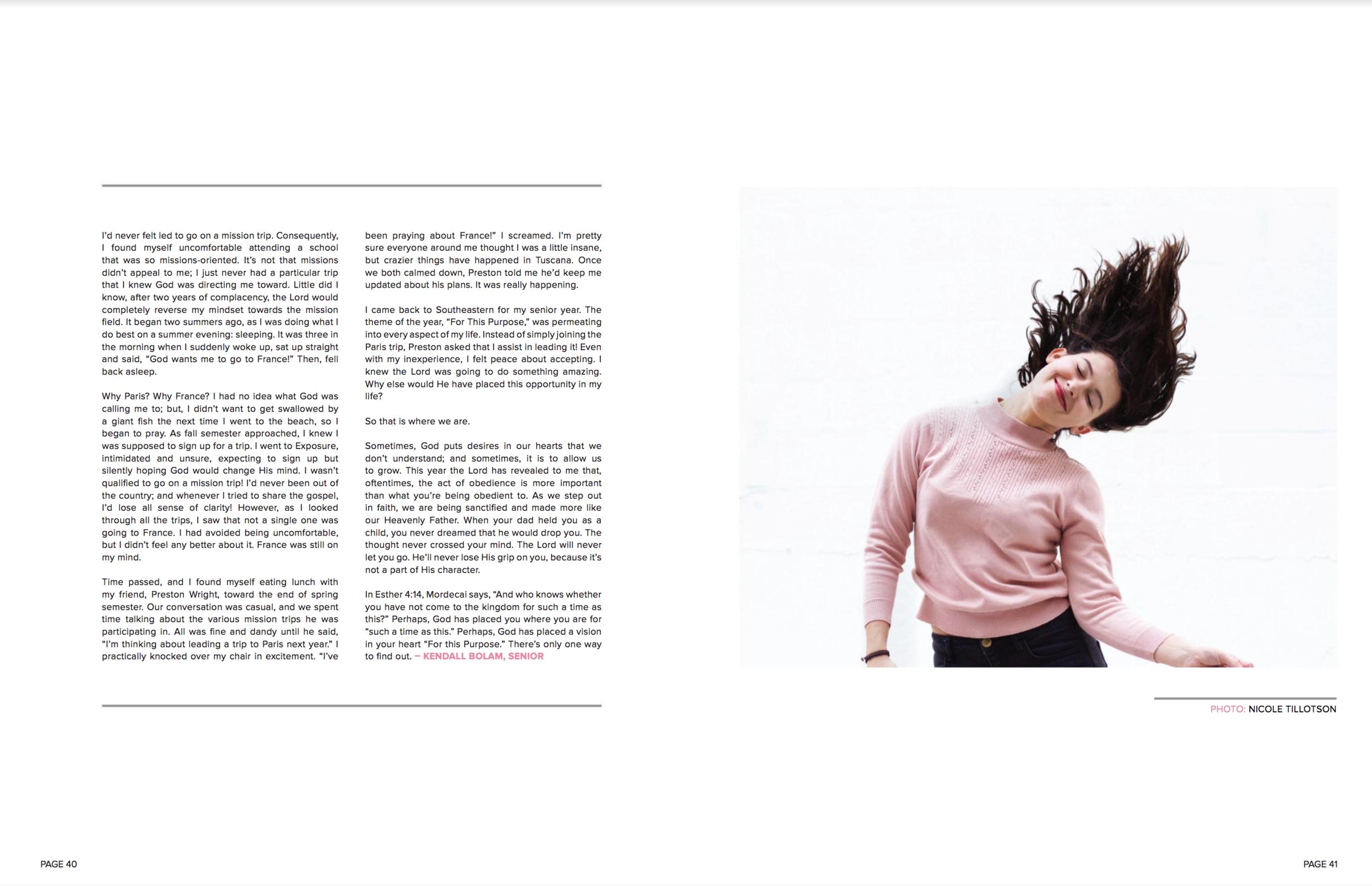 SEU Magazine  Issue 5 // December 2015