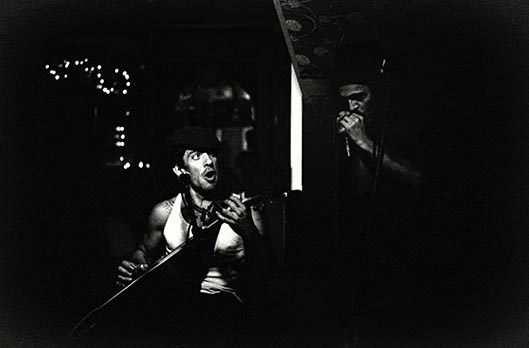 John Fairhurst & Joe Strouzer at the Left Bank