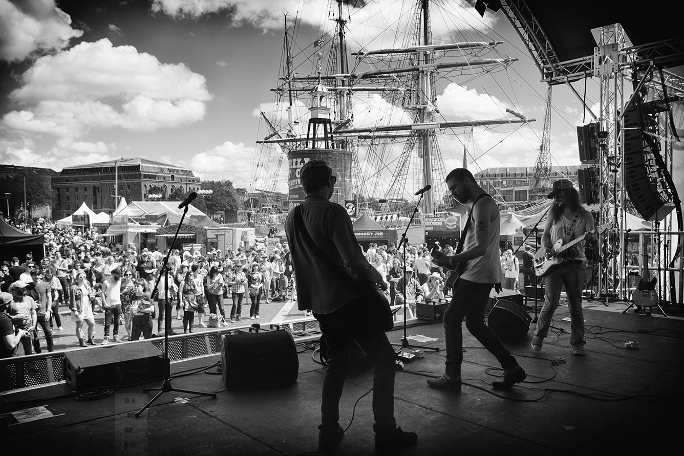 On stage with the Montgomerys at Grillstock 2014