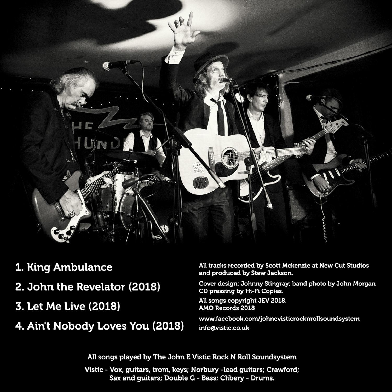 King Ambulance LIVE! - John E Vistic