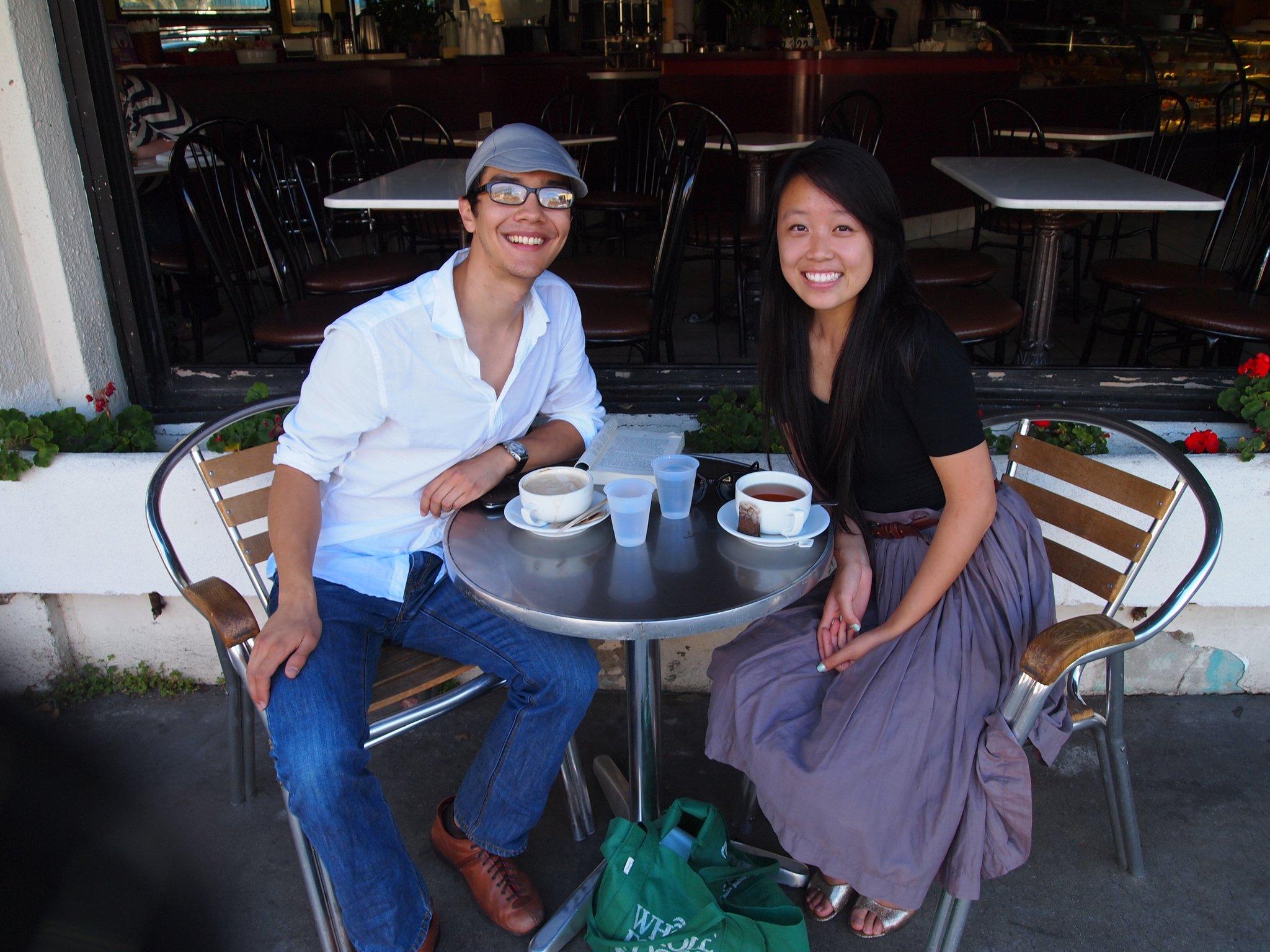 Coffee and tea at UCLA, 2011