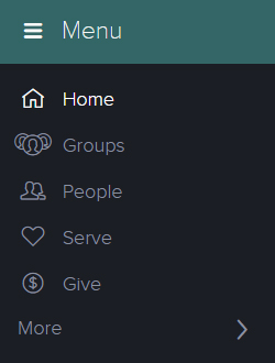 "2. Once you've logged in, look on the left side of your screen and click ""Groups"""