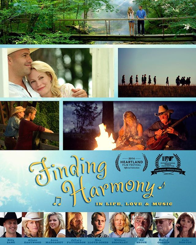 "Finding Harmony, a multi-generational southern drama about the wounds we carry, and those we leave behind, will be showing tonight at WorldFest Houston at 7pm! Billy Zane and Jeffery Patterson will be in attendance. Please say ""hello"" and tell them what you think of the movie! . . . #worldfesthouston #findingharmonymovie #jefferypatterson #allisoneastwood #billyzane #worldfest"