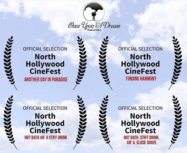We just found out the great news that our four feature films all received OFFICIAL SELECTIONS at the North Hollywood Cinefest! Red Carpet TOMORROW! Check the link in bio to RSVP! . . . #redcarpet #losangeles #film #premiere #westernfilm #losangelesevents #northhollywood