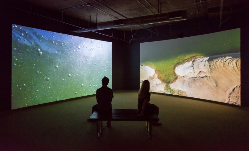 High Water Mark,     10 minutes 35 seconds, 4 channel video installation, 2016   commissioned by   the Savannah College of Art and Design