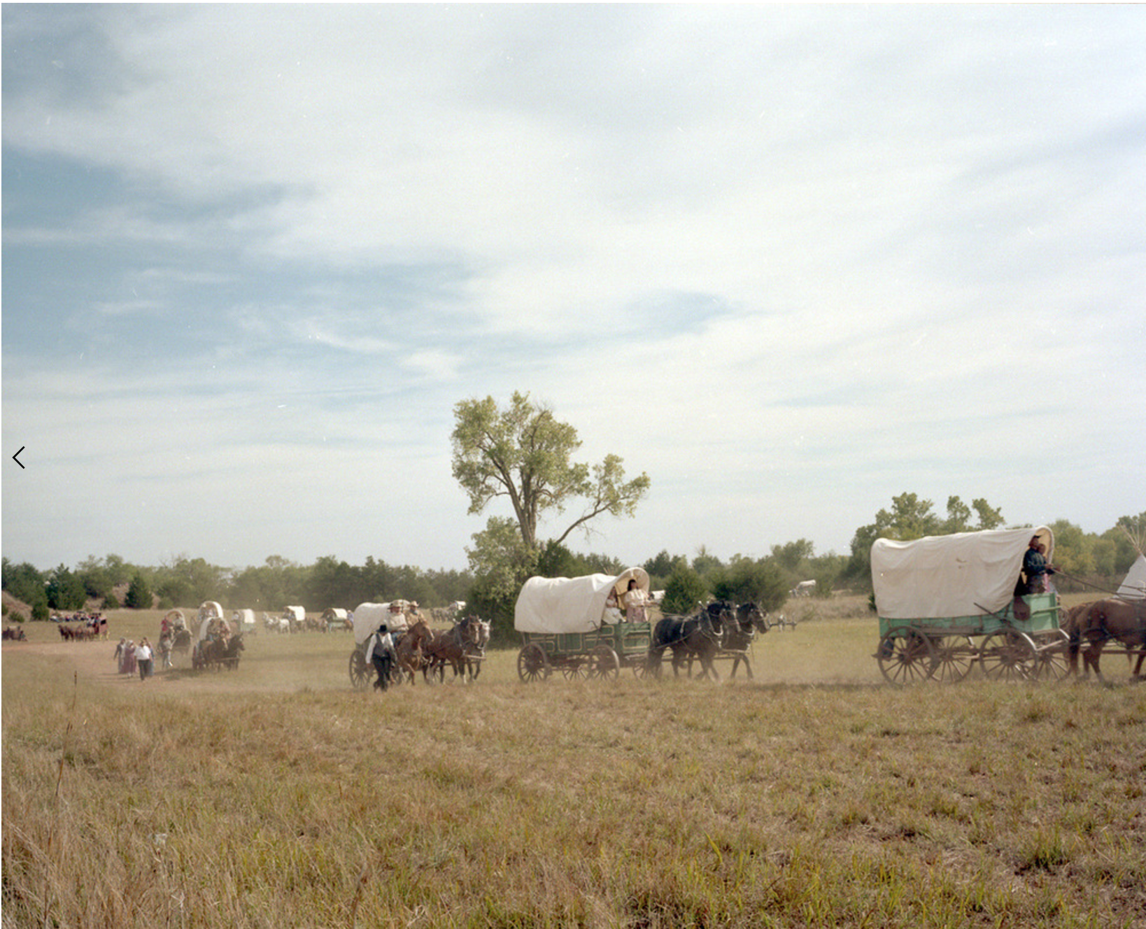 Wagon Train II from Place and Time © Edie Winograde