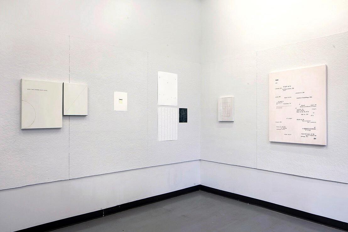 Installation of Twenty Five Hours by Jesse Chun