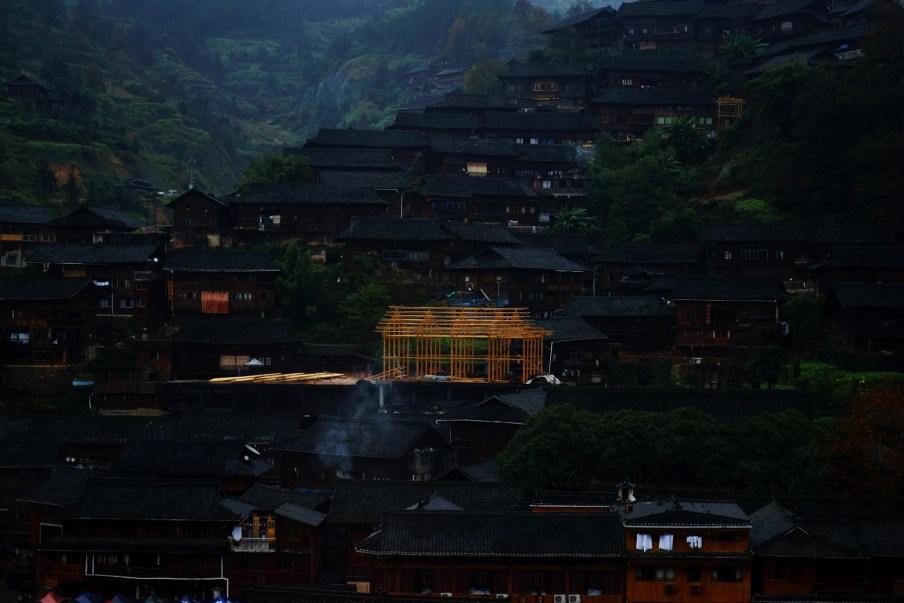 House Frame, 2015 courtesy of Shen Wei