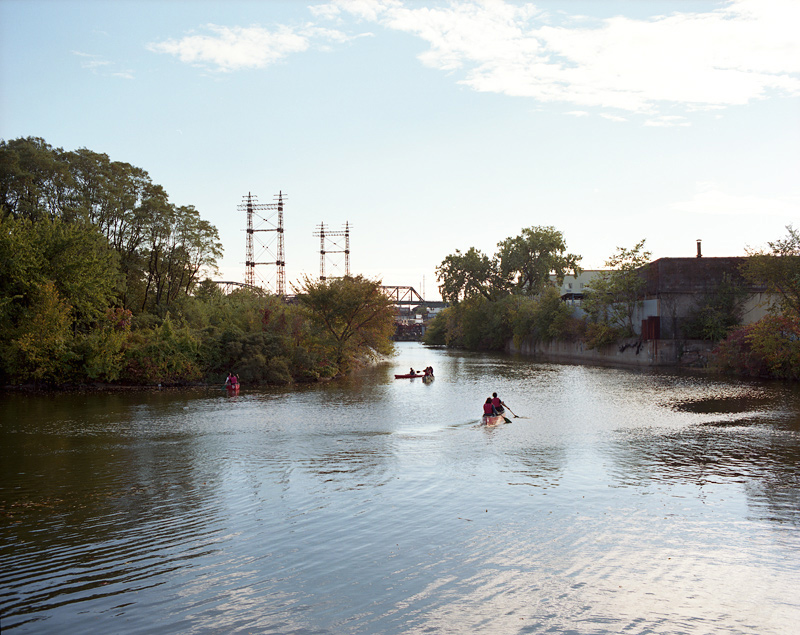 Canoes, The Bronx River, 2013