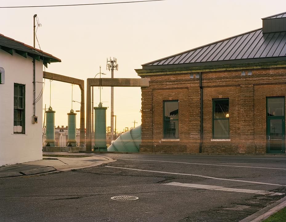 Pumping Station No. 2, North Broad Street,  2018, Digital Print 40x50 inches  ©Alison Gootee