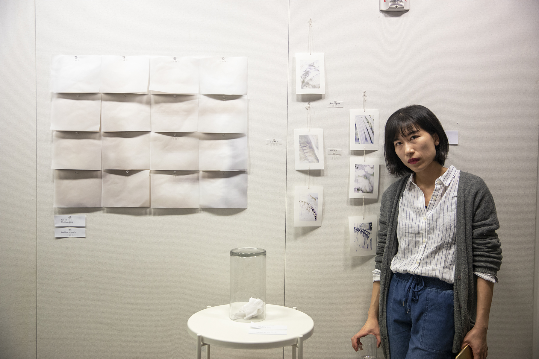 Yan Jin and her work at Spring Salon 2019