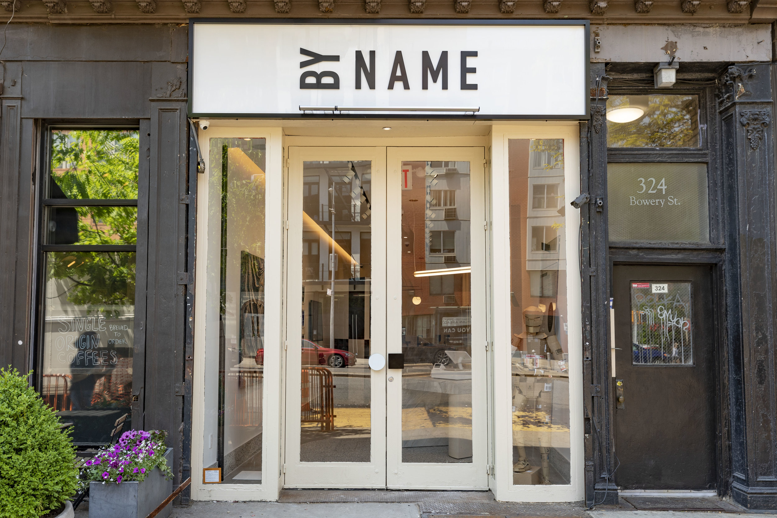 """By Name"" @ 324 Bowery, New York"