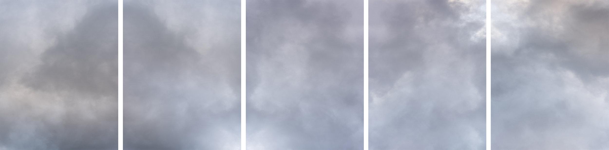 Cloud (No. 1-5)  Dimensions Variable  2019