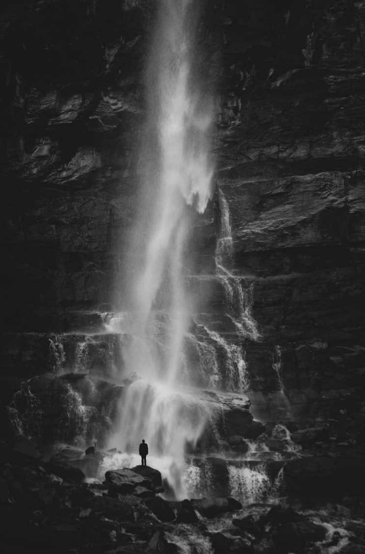 Self Portrait , Cascade Falls, 2016