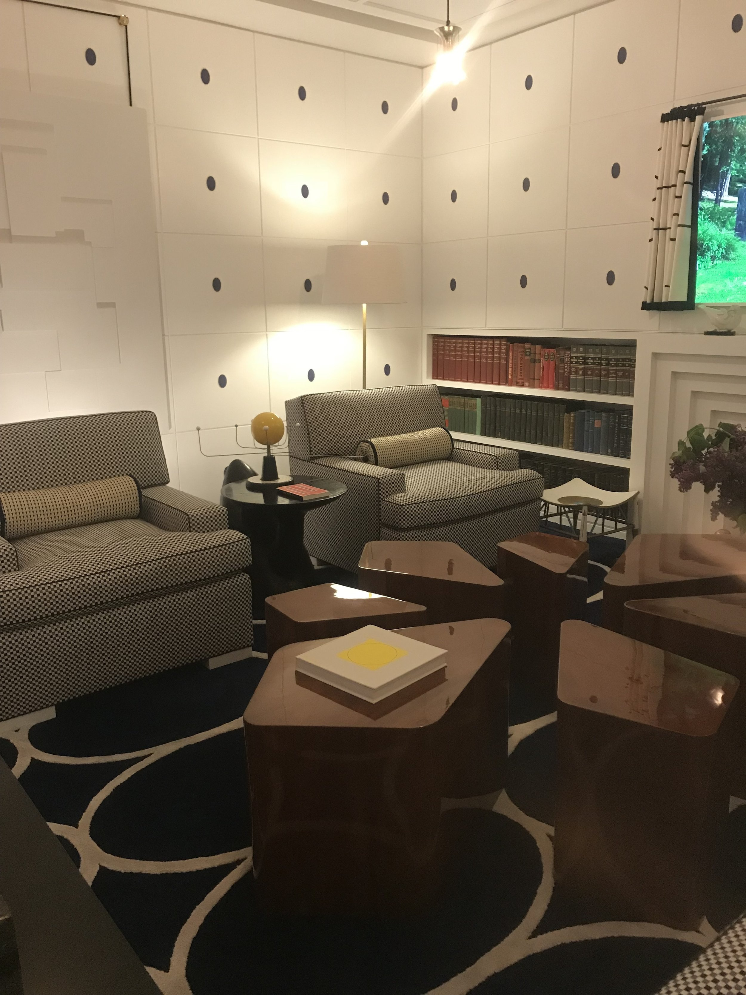 I loved Juan Montoya's room very much.. i ended here in the basement and felt as tho... this is where I would spend all of my time having meetings and hiding out from the family. GORGEOUS, Understated elegance.  JuanMontoyaDesign