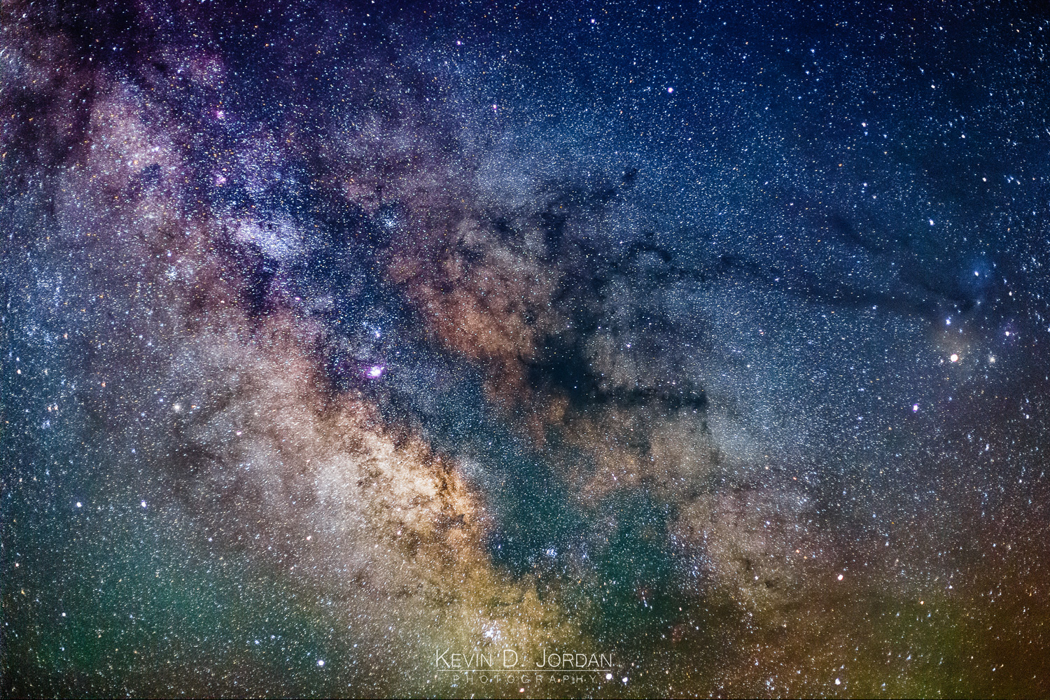 """Center of the Milky Way"" (Kevin D. Jordan Photography)"