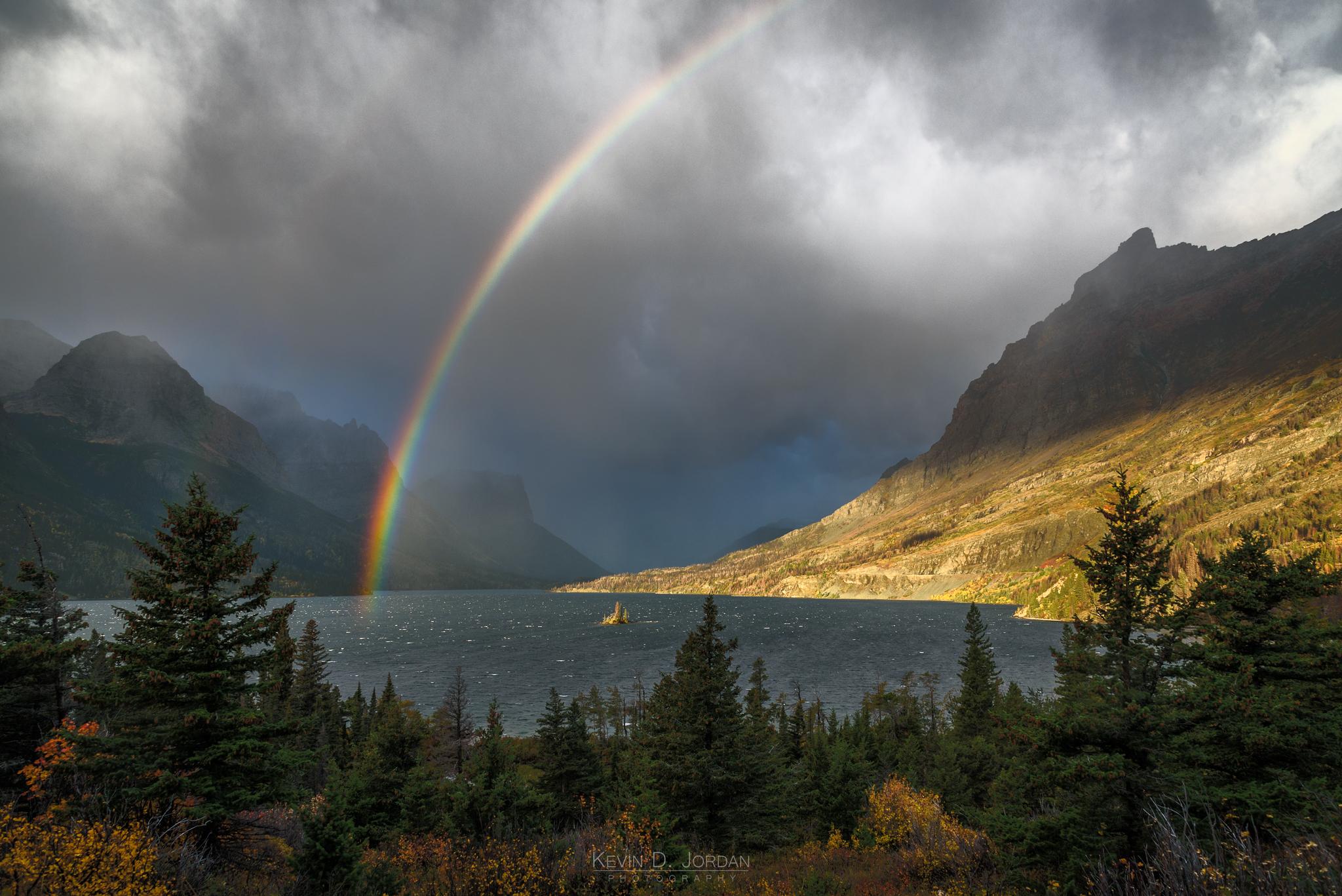 Rainbow Over Wild Goose Island