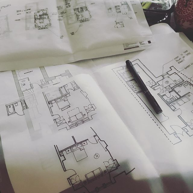 #sketching mornings, this is my favourite part of a project, where possibilities are still endless, trying to figure out which idea is the best match for the client brief. It's almost like a puzzle game, when it fits, you know! #interiordesign #studiofay @studiofay